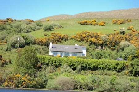 Panoramic lake view Cottage - Clonbur