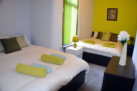 Beautiful Room in Birchfields Guest House - Manchester