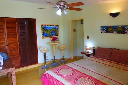B&B Sunrise Room, Wi-Fi, A/C, Patio - Contadora Island