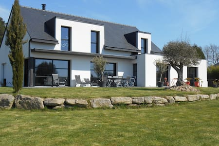 Golfe Morbihan Maison contemporaine - House