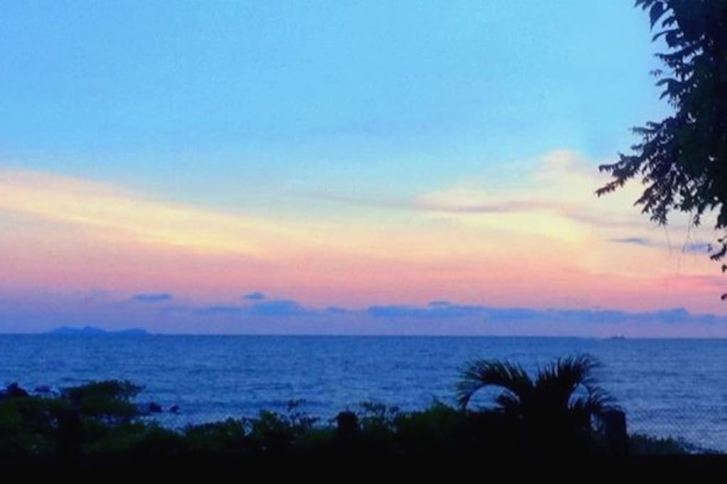 one of our sunset views