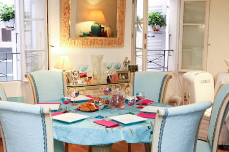Charming room in Old Antibes - Antibes - Apartment