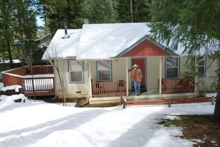 Cozy home--beautiful location near wineries/rivers - Grizzly Flats - Maison