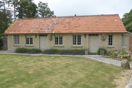 Cottage with pool and tennis court - Langport - House