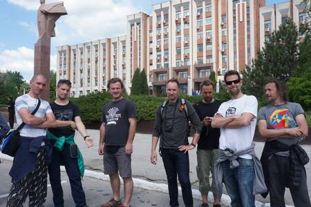 USSR Hostel WIFI TRAIN STATION - Szoba reggelivel