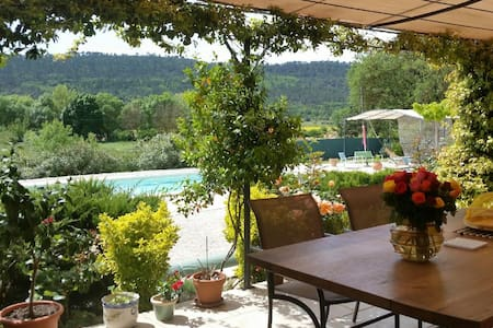 bnbprovence - chambre Azur for 2 - Marie C. - Bed & Breakfast