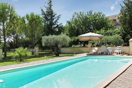 Beautiful pool house in Vaucluse - Althen-des-Paluds - Casa