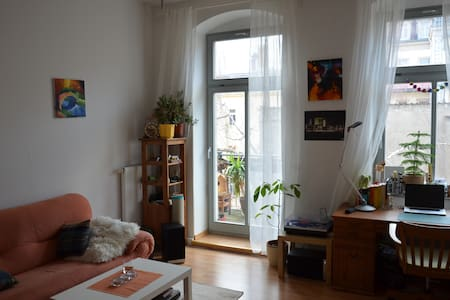 Friendly apartment with balcony