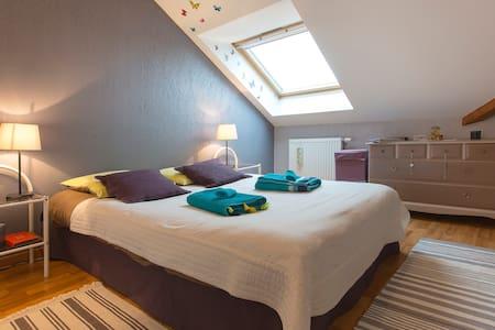 1 chambre 2 personnes + pt djeuner - Poisy - Apartmen