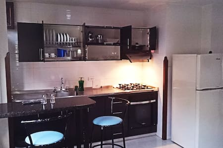 Apartaestudio cerca al Parque - Flat near the park - Appartement