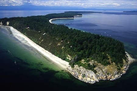 Savary Island Getaway Cabin-kick back and relax!! - Lund - Stuga