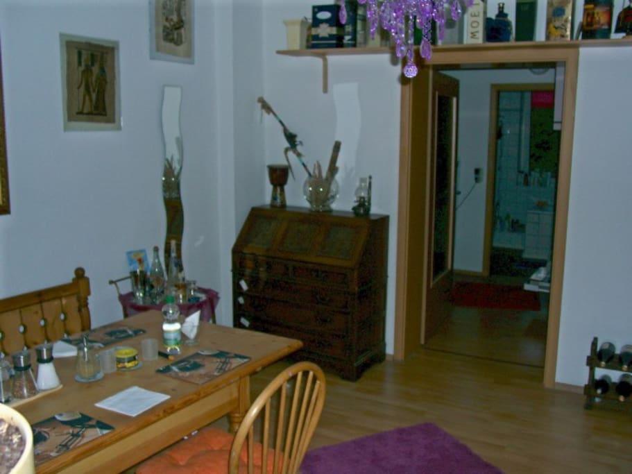 3 Etage with Rheinblick eine tolle