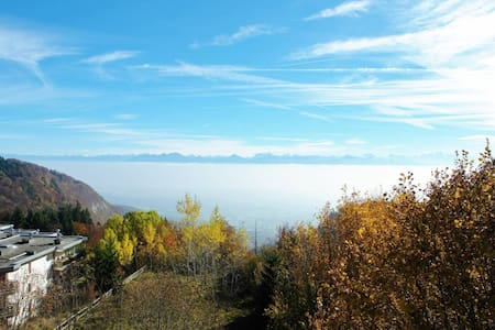 Apartment with balcony and lake view -GVA in 35min - Saint-Cergue