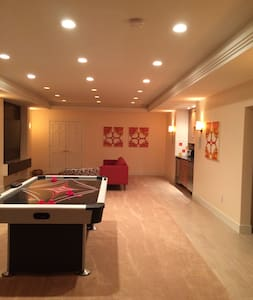Spacious apt central to Annapolis/Baltimore/DC - Crownsville - Pis