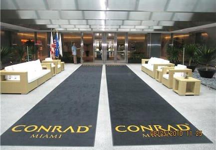 Conrad Hilton Miami 1 BDR Suite
