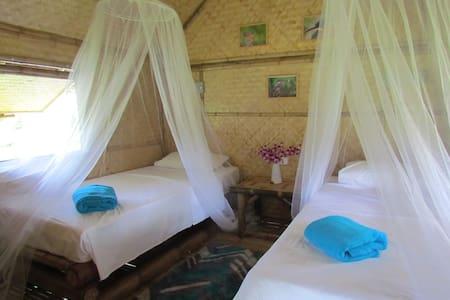 Kingfisher lodge, Bamboo cabin - Blockhütte