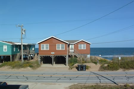 Outer Banks Ocean Front Cottage - Kitty Hawk - 一軒家