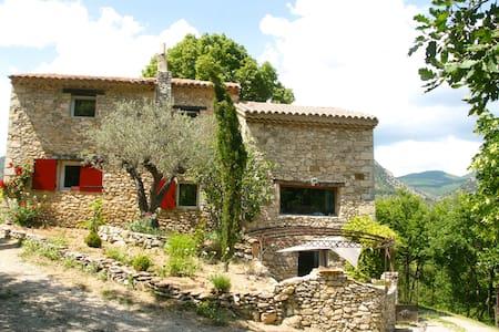 Gde maison piscine Drôme Provençale - Haus