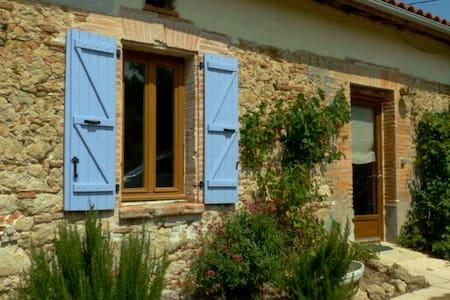 Joli gite à Marliac 40 min Toulouse - Dům