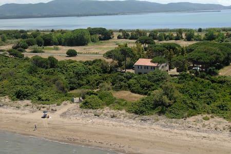 magnifica casa sulla spiaggia
