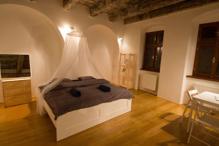 ⍟ Room in Baroque building at the Charles Bridge - Flat