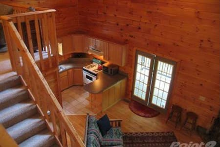 Private Beautiful Cabin on 6 acres - Ház