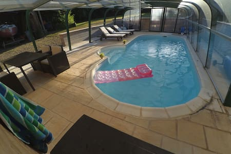 chambre accés indépendant, piscine - Haus