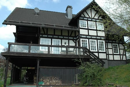 Fachwerkhaus am Rothaarsteig - Hilchenbach - Casa