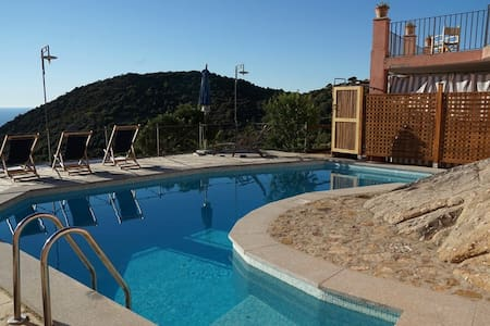Casa del Sole - nature sea view with private pool - House