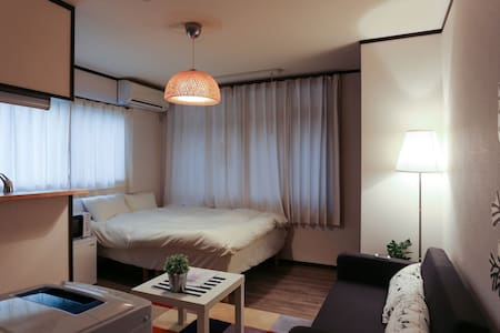 2.Shijo 3min! Kyoto 4min!3ppl!mWiFi - Nakagyo Ward, Kyoto - Byt