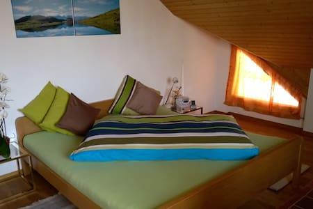 Charmantes, gemütliches  Zimmer Nähe St. Gallen - Speicher - Rumah