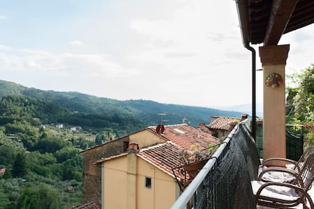 Tuscany  views,  food, wine & walks - Appartement