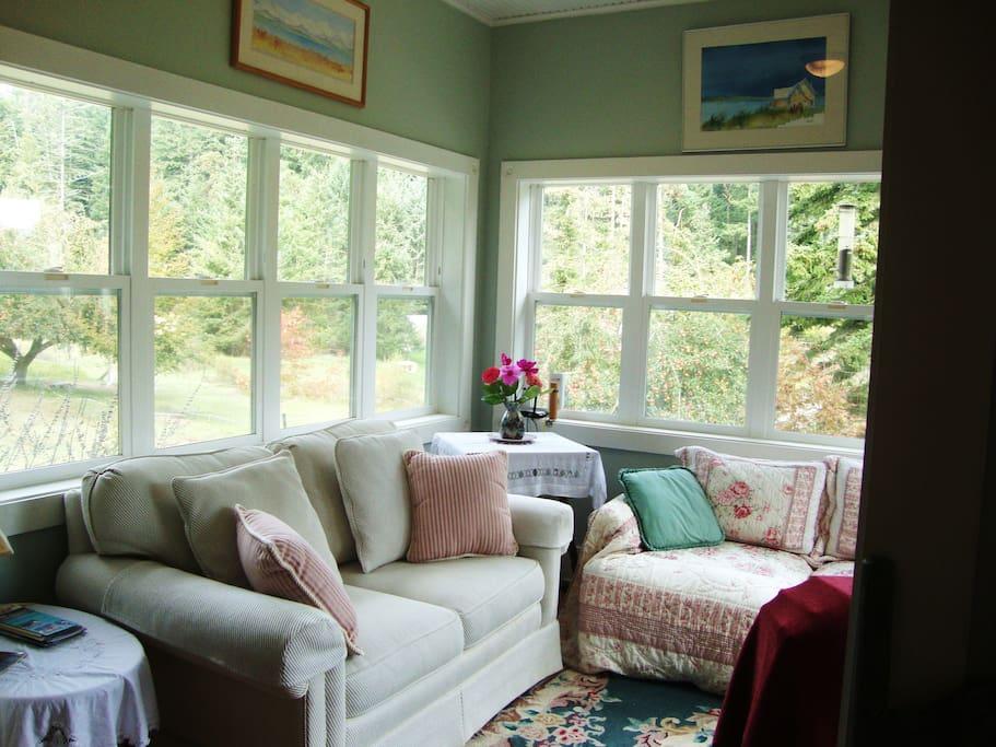 Living Room - surround windows