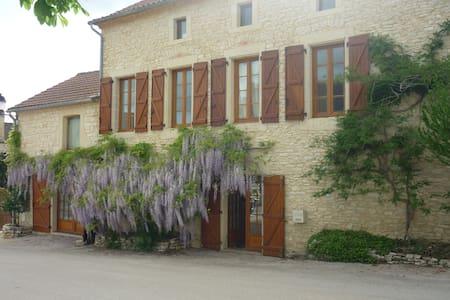 Belle et vaste maison en pierres   - Montgesty - Huis