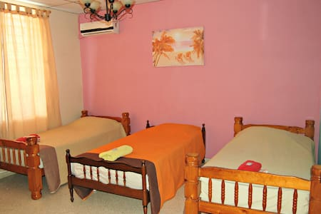 Triple room with shared bathroom - Bed & Breakfast