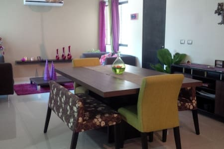 Room at a modern apartment - Villahermosa - Lägenhet