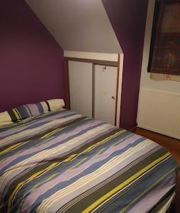 Chambre privée pour 2 dans maison campagne - Languidic - Huis