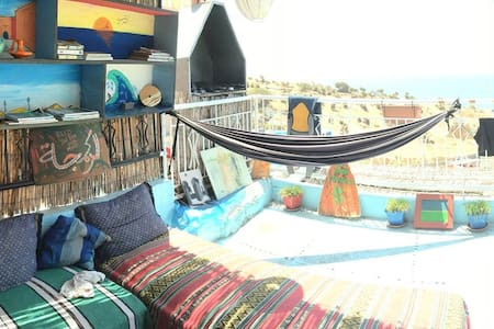 Roof House Taghazout 4 bed dorm - Taghazout - Bed & Breakfast