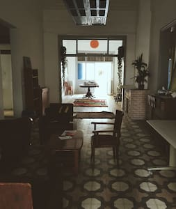 Beautiful historic apt; color tiles & high ceiling - Entire Floor