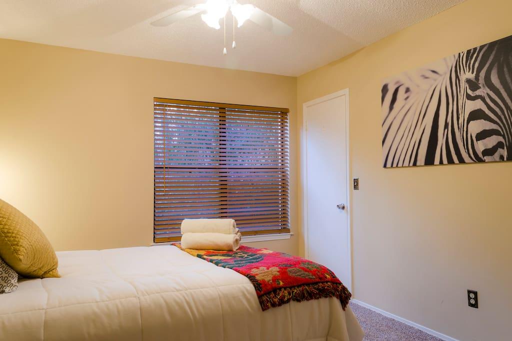 Stunning first Queen Size bedroom