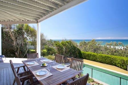 Noosa Beach Front Home - Castaways Beach - House