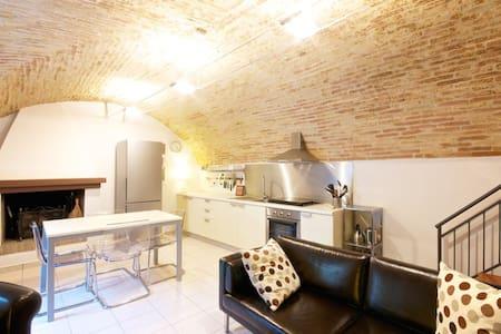 Abruzzo Italy-Modern Medieval Home - Rocca San Giovanni - Rumah