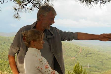 safaritent op eco-schapenboerderij - Cottage