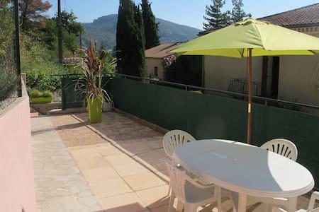 Appartement 2 p. 38m2 terrasse, Drôme provençale - Appartement
