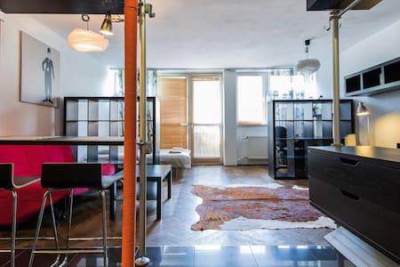 Bizzi LuxCenter Studio in Warsaw - Varsovie - Appartement