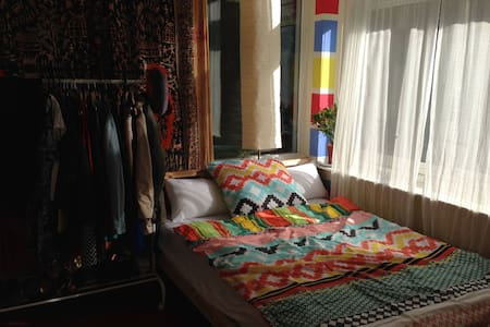 MAX 40 euros / night + Bike - Amsterdam-Zuidoost - Appartement