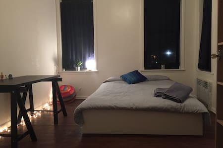Bright, modern room in clean appt - Brooklyn - Apartment