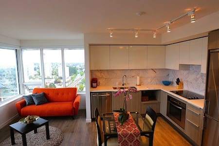 Metrotown - Brand New 2 bed 2 bath - Burnaby - Lejlighed