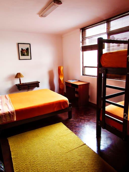 the room itself. we love orange, and hope you do too :)
