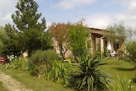 Villa 3/4h des Cévennes, de la mer,du Pt du Gard - Maison
